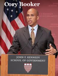 Cory Booker, Mayor of Newark, New Jersey